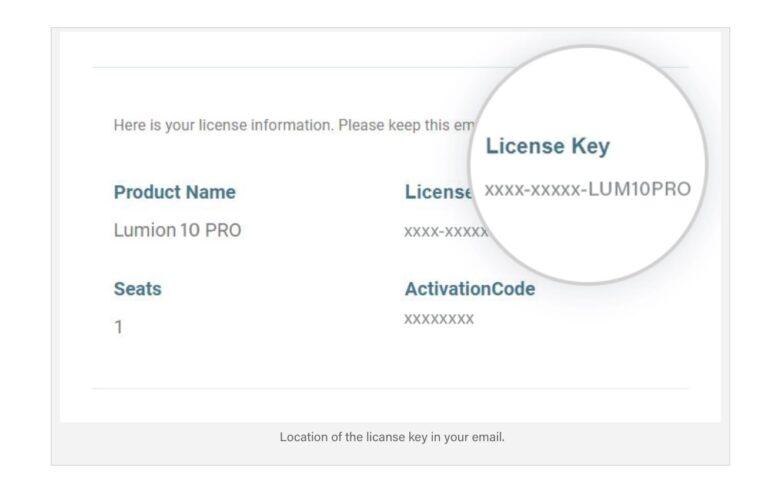 lumion 11 upgrade license key